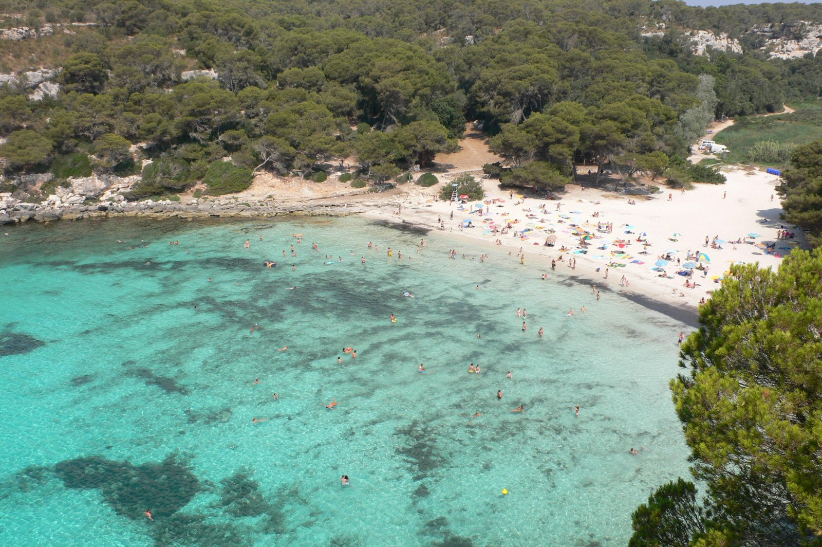 15. Macarella Beach in Menorca, Spain