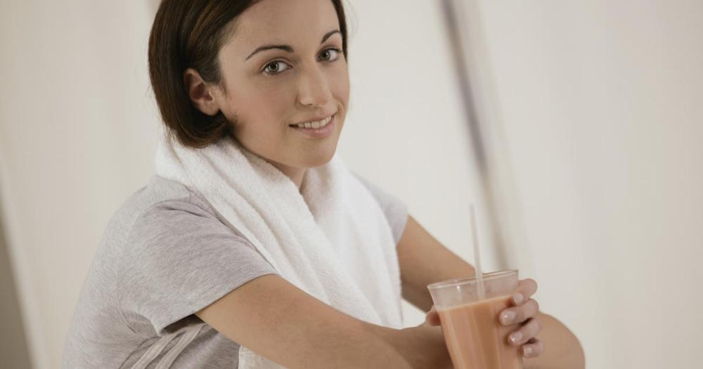 2. Sore muscles? - Drink milk! The protein will help you recover faster