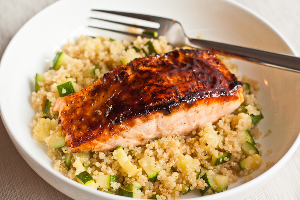 4. Eat Salmon rich with Vitamin D