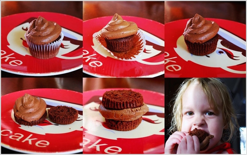 8. This is how you will eat cupcakes from now on