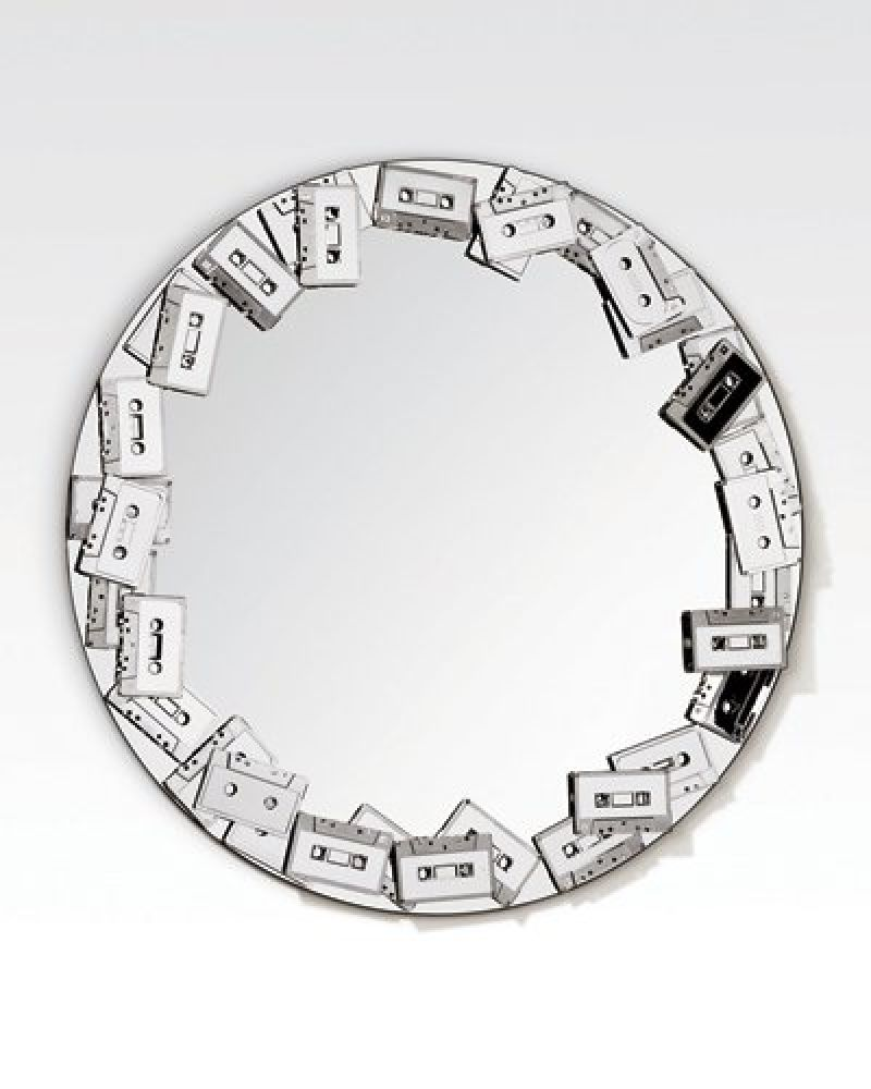 cassette tapes mirror