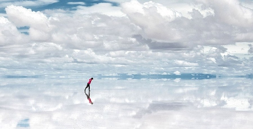Salar de Uyuni- One of the World's Largest Mirrors, Bolivia