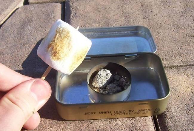 10. Pocket fire pit