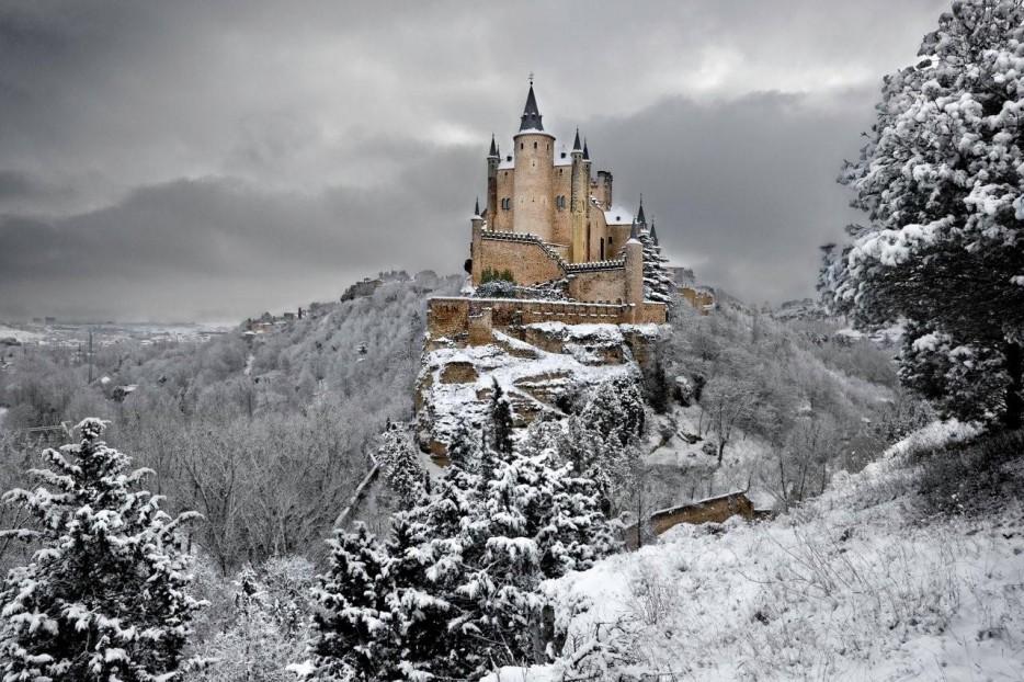 12.  The Alcazar of Segovia in Spain
