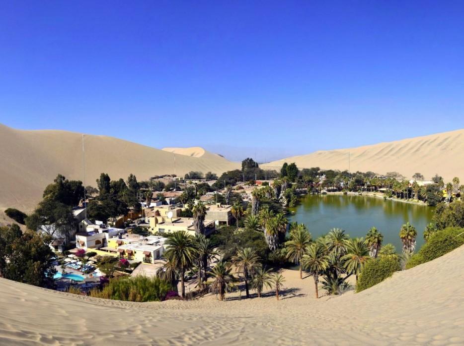 17. Huacachina, Peruvian Desert