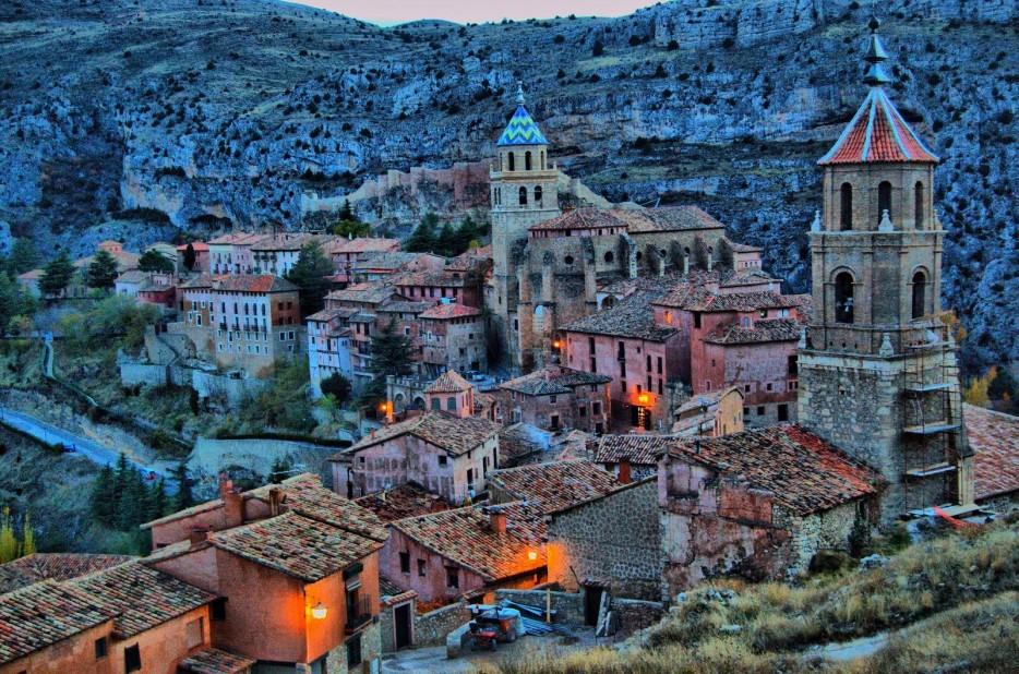 6. Albarracin in Aragon, Spain