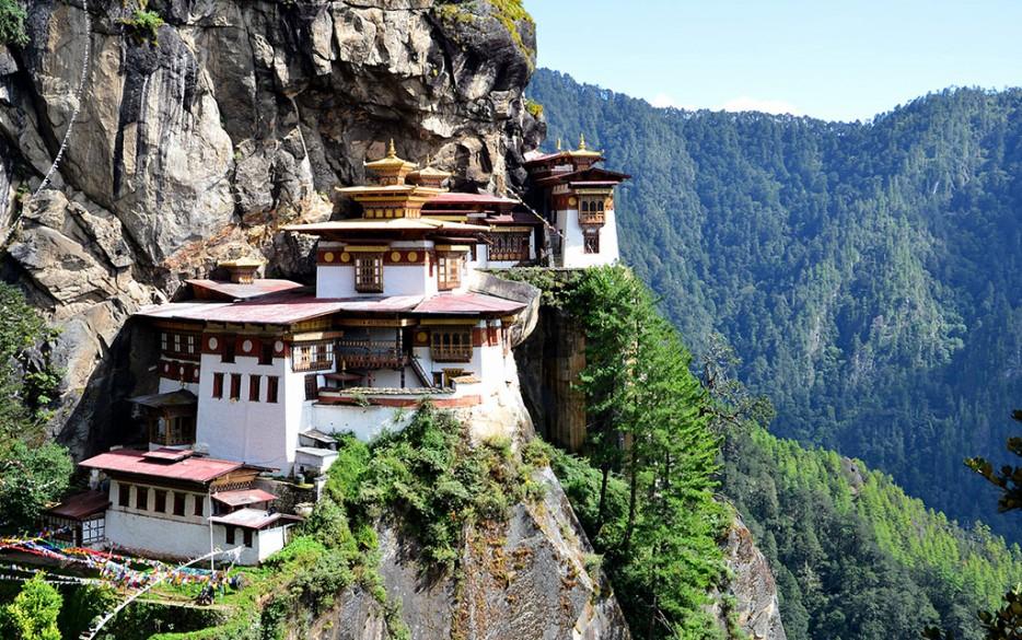 8. Tiger's Nest Monastery in Paro Valley, Bhutan