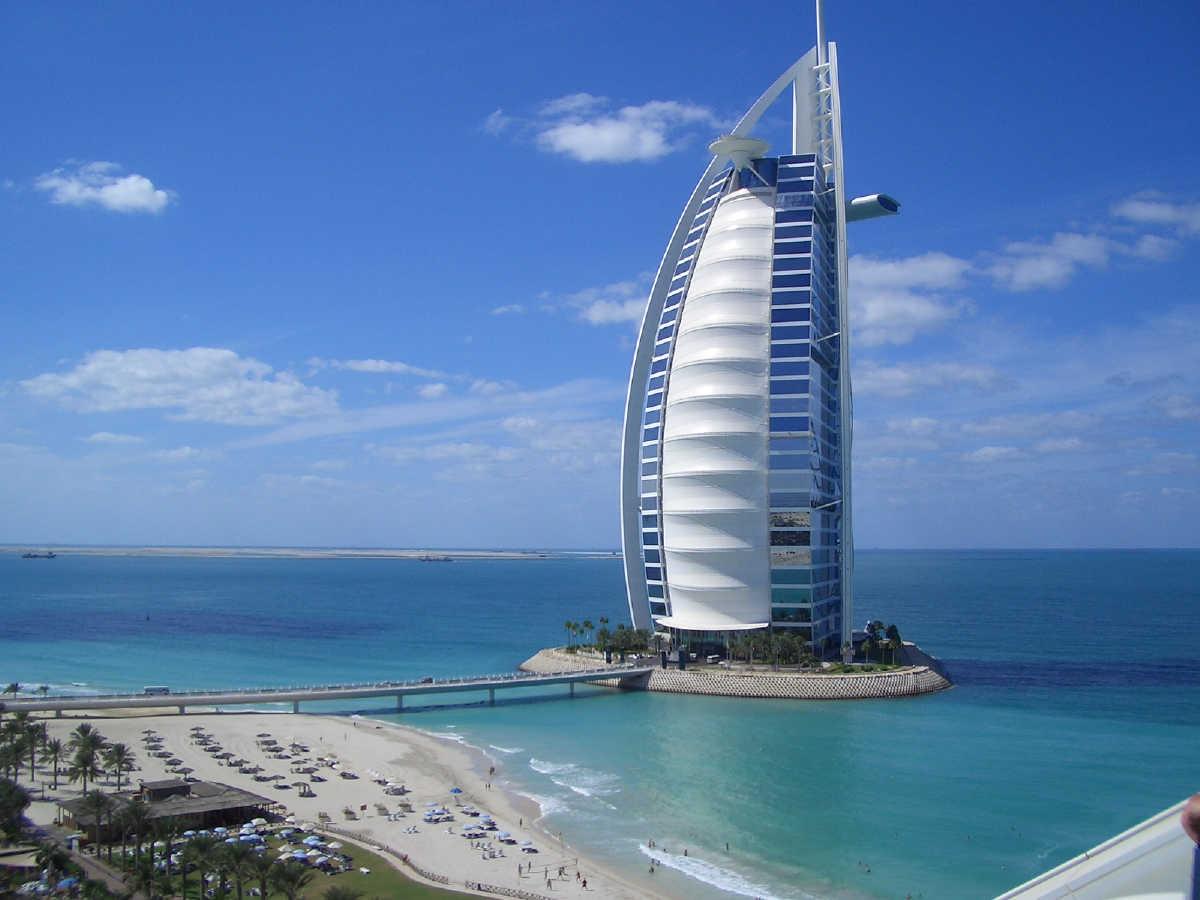 12. Burj Al Arab, Dubai