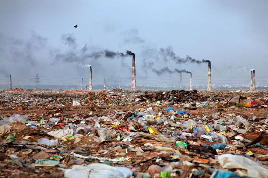 12. Trash in Bangladesh