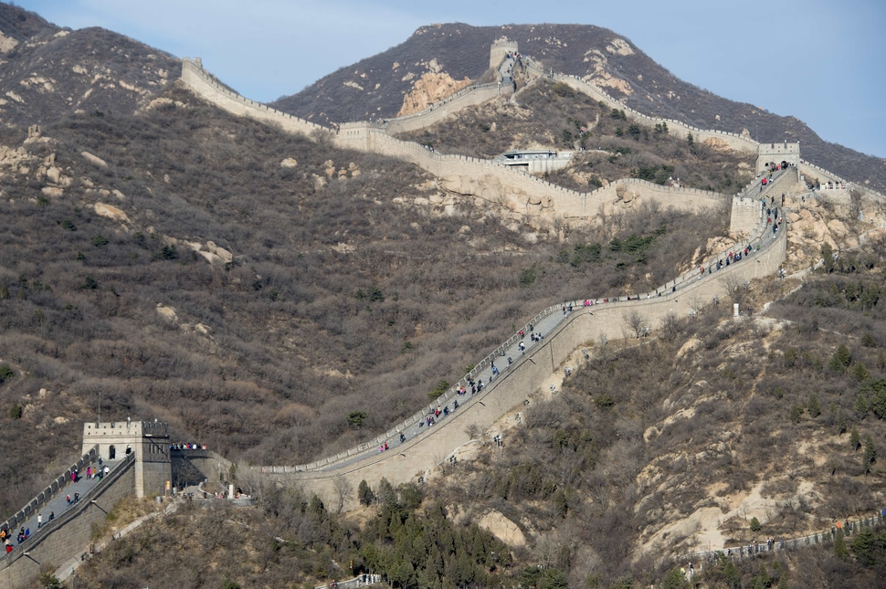 2. Great Wall of China - 20 Years