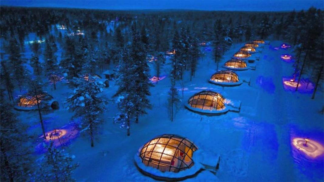 11. Kakslauttanen Arctic Resort, Finland