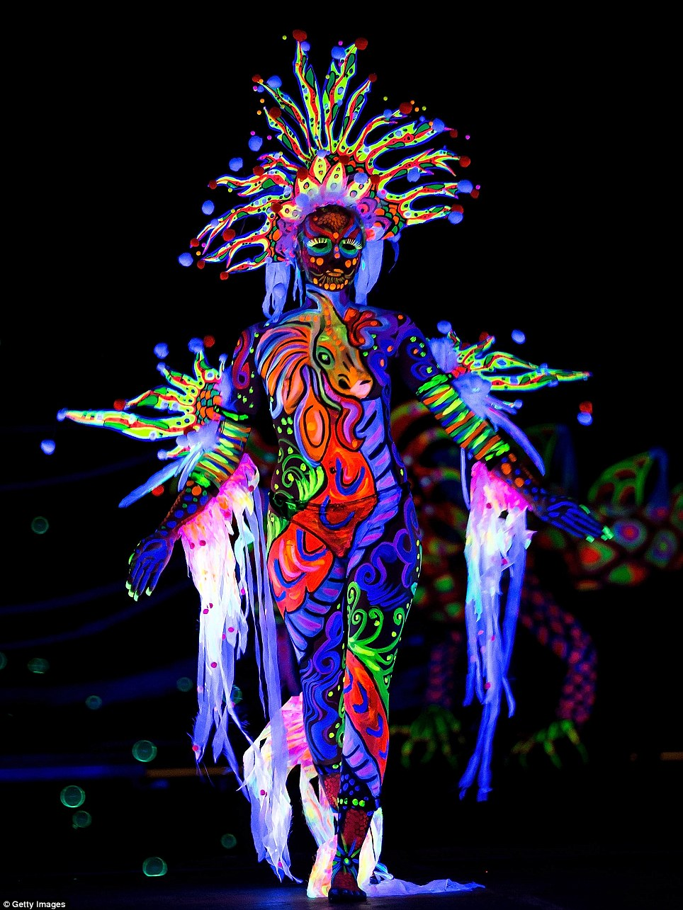11. Our bodies glow in the dark, but our eyes are not able to see that