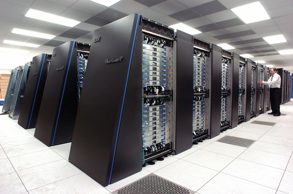 17. The world's most powerful supercomputer, BlueGene, can manage only .002 of all the functions a human brain could if it were a computer itself