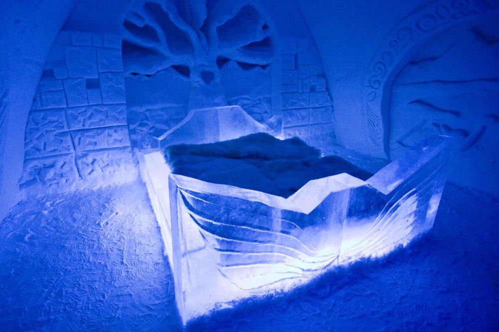 5.  Kemi Snow Castle, Finland