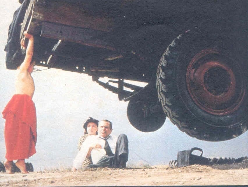 8. People can lift cars while experiencing an adrenaline rush