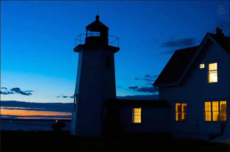 1. Wings Neck Lighthouse, Pocasset, Massachusetts.