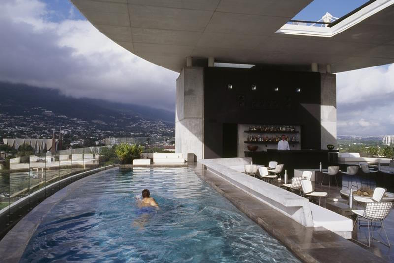 Habita Monterrey's Two Rooftop Pools