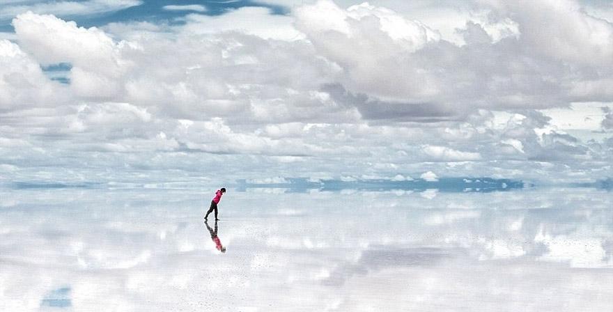 Salar de Uyuni- One of the World's Largest Mirrors, Bolivia