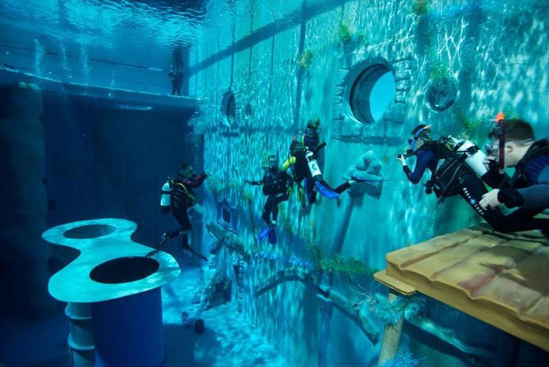 The Deepest Pool in the World Located in Brussels