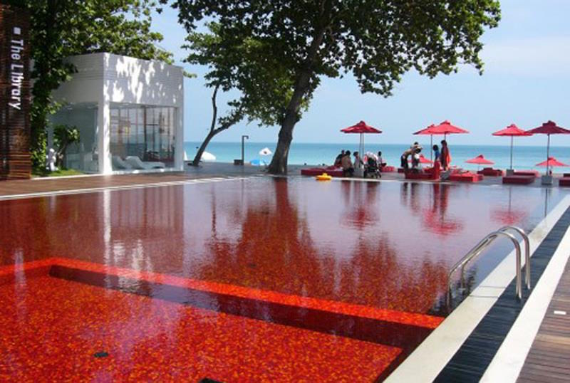 The Koh Samui Boutique Beach Hotel's Library Pool