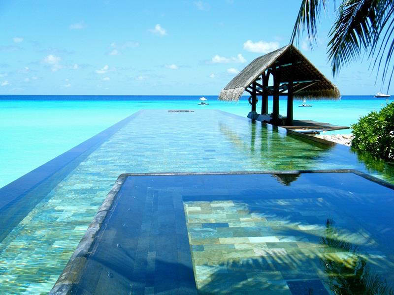 The One and Only Resort in Maldives' Pool