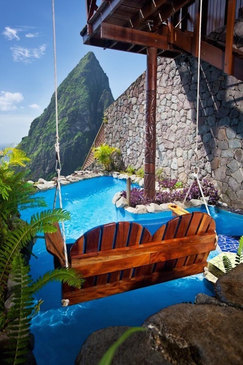 Ladera resort, St.Lucia